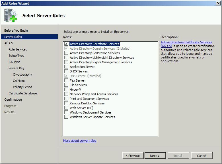 radius server1