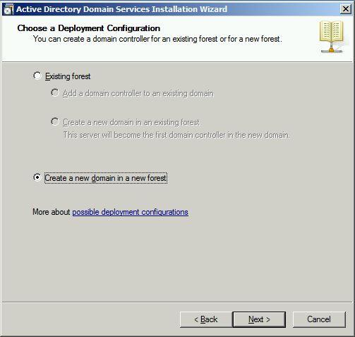 Choose a Deployment Configuration