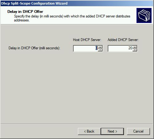 Delay in DHCP Offer