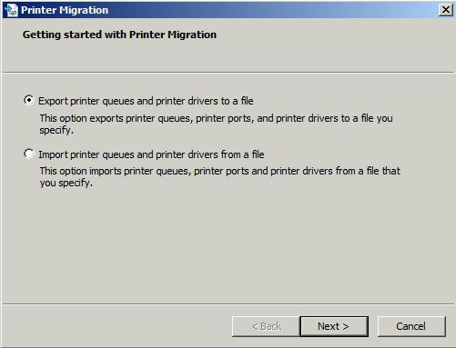 Getting Started With Printer Migration