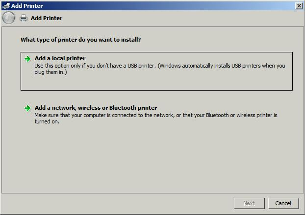 What Type Of Printer Do You Want To Install
