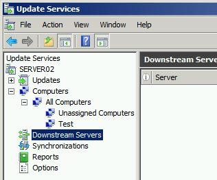 downstream server